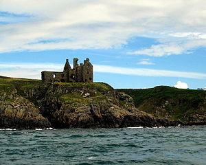 Portpatrick - Dunskey Castle