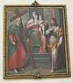 Duomo di castelnuovo, interno, madonna col bambino e santi, giuseppe porta detto il salviatino.JPG