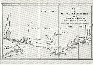Anglo-Dutch Gold Coast Treaty (1867) - The Dutch Gold Coast after the trade of forts with Britain.