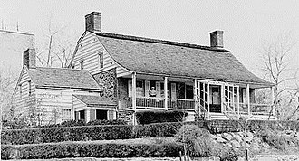 Dyckman House - Historic American Buildings Survey photo from 1934