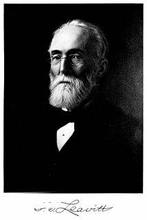 Erasmus Darwin Leavitt Jr. American engineer