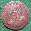 ENGLAND, MIDDLESEX -PRINCESS OF WALES HALFPENNY TOKEN 1795 a - Flickr - woody1778a.jpg