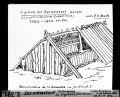 ETH-BIB-Sarmenstorf, Totenhaus im Zigiholz (Neolithisch), Rekonstruktion nach Dr. R. Bosch-Dia 247-Z-00391.tif