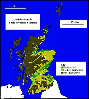Agriculture in prehistoric Scotland - Image: Early Medieval Economy