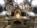 Early Morning Just before Aarti time Temple inside pic with Goddess Maa Kalka Ji.jpg
