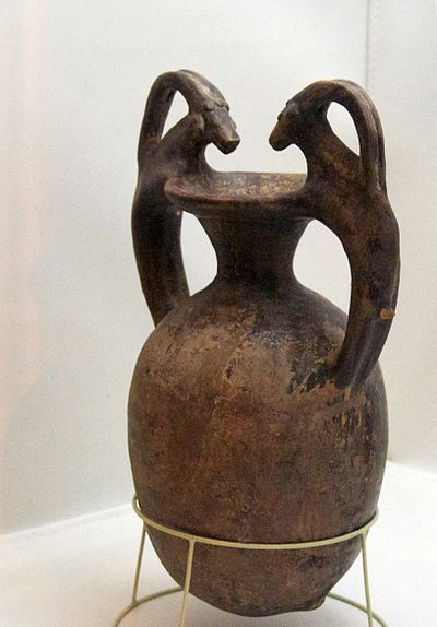 Persian vessel (c. 6th - 4th century BC) - Ancient Persian Nutrition