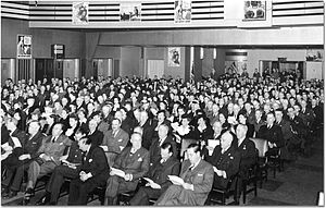 National War Finance Committee - Victory Bonds rally, 1943