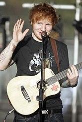 Sheeran On Stage In Sydney Australia February