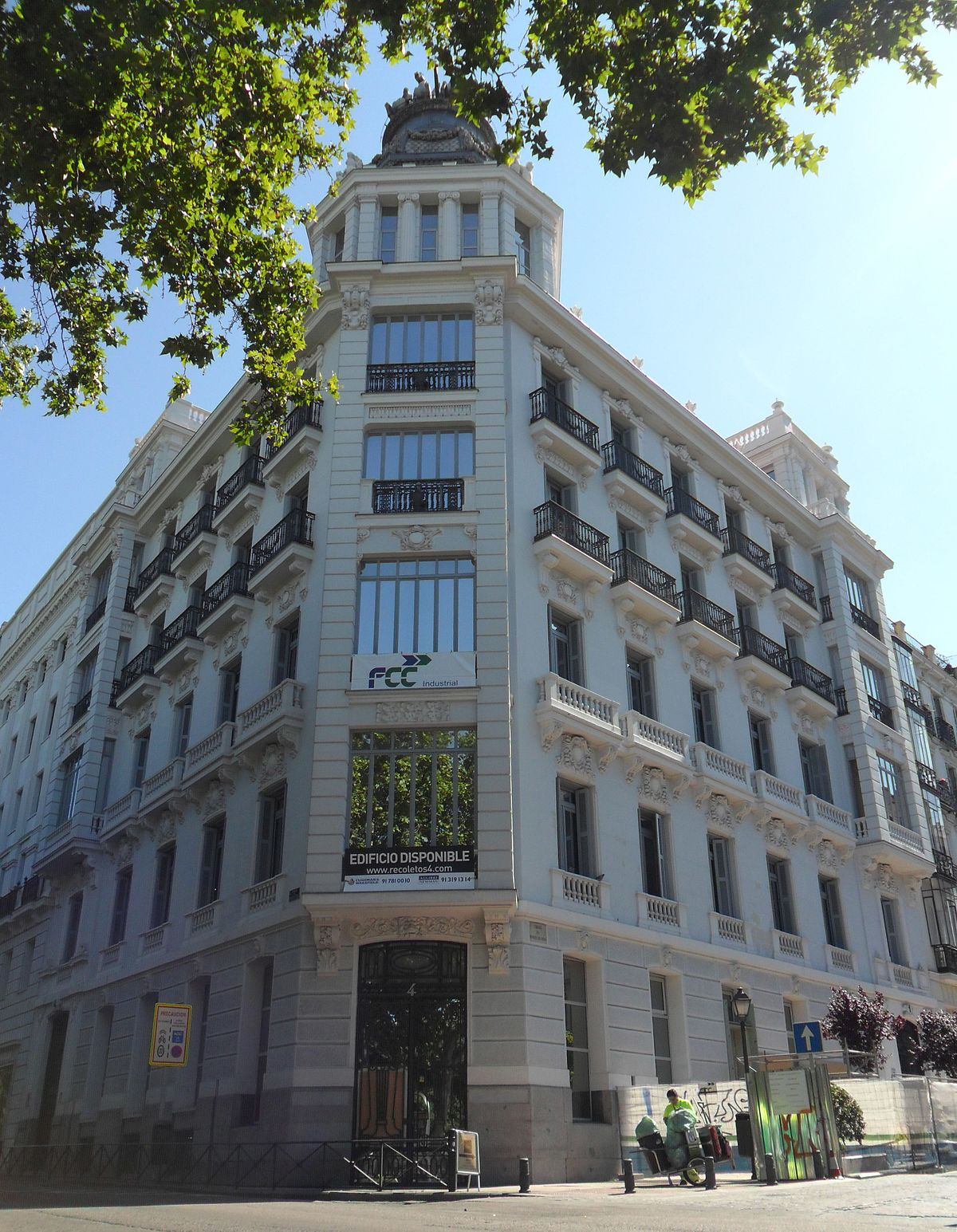 Edificio de seguros la aurora wikipedia la enciclopedia for Edificio de la comunidad de madrid