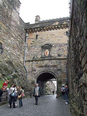 Portcullis Gate, Edinburgh Castle, Edinburgh