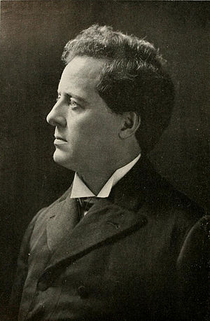 Edmund J. James - James pictured in Illio 1912, Illinois yearbook