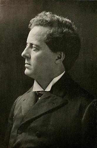Edmund J. James - James pictured in Illio 1912, Illinois yearbook