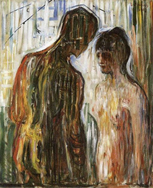 Edvard Munch - Cupid and Psyche (1907)