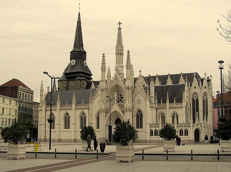 The church Saint Martin in Roubaix, France