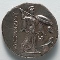 Egypt, Greece, reign of Ptolemy I - Stater- Athena and Eagle (reverse) - 1916.994.b - Cleveland Museum of Art.tif