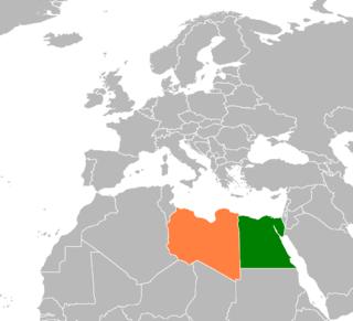 Egypt–Libya relations