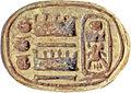 Egyptian - Scarab of Thutmose IV - Walters 4272 - Bottom (2).jpg