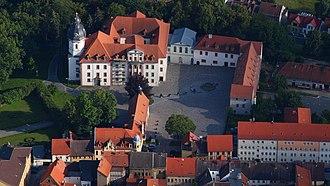 Saxe-Altenburg - Image: Eisenberg, Schloss Christiansburg