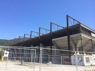 Eisstadion Biel - Abbruch Westseite