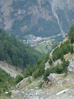 Eisten Municipality in Switzerland in Valais
