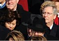 Elaine Chao and Mitch McConnell watch Barack Obama taking his Oath of Office - 2009Jan20.jpg