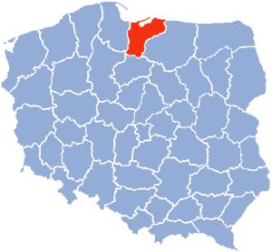 Elbląg Voivodeship - Elbląg Voivodeship
