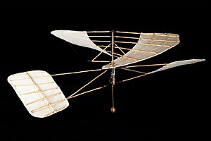 Helicopter - Experimental helicopter by Enrico Forlanini (1877), exposed at the Museo nazionale della scienza e della tecnologia Leonardo da Vinci of Milan