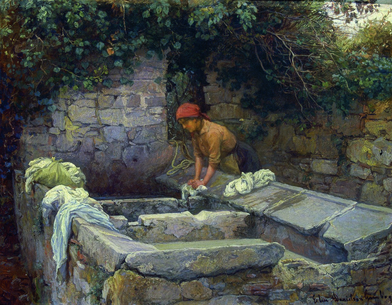 Elin Danielson-Gambogi - Laundress (1900).jpg