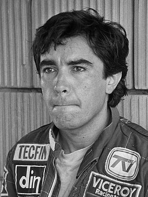 Eliseo Salazar - Salazar at the 1982 Dutch Grand Prix