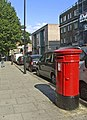 Elizabeth II Pillar Box, Castlehaven Road, London NW1 - geograph.org.uk - 974669.jpg