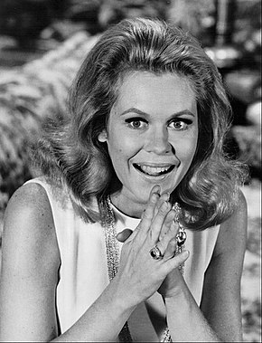 "BEWITCHED ELIZABETH MONTGOMERY /""MA SORCIERE BIEN-AIMEE/"" PHOTO SERIE TV CP"