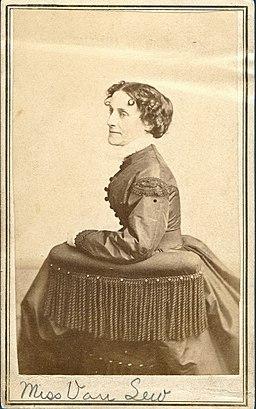 Elizabeth Van Lew by Philadelphia photographer A. J. De Morat