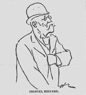 Elliott Fitch Shepard - 1892 sketch of Shepard