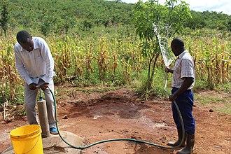 Self-supply of water and sanitation - Emas pump