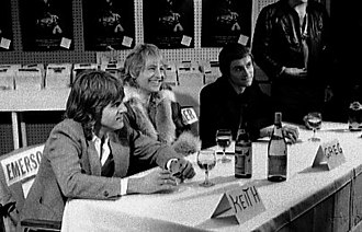 Emerson, Lake & Palmer - The band in Toronto, 1978