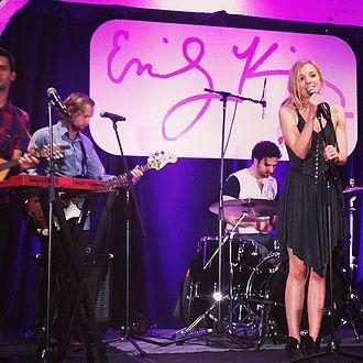 Emily Kinney - Kinney performing in 2013