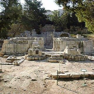Emmaus Nicopolis human settlement