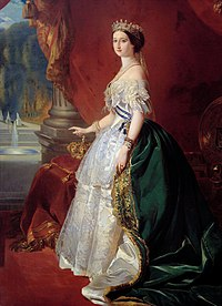 Empress Eugénie in Court Dress (after Winterhalter, Compiègne IMP25).jpg