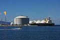 Energy Advance LNG carrier in Ishikari Bay.jpg