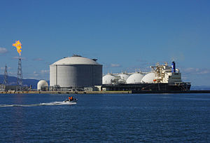 Energy Advance LNG carrier in Ishikari Bay.jpg