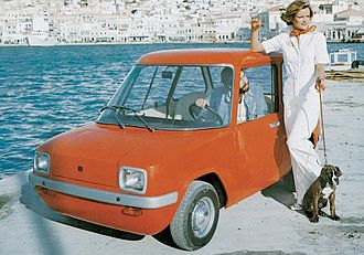 Neorion - Enfield-Neorion 8000 electric car (1973)