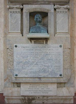 Enrico Caviglia - Monument to Generale Enrico Caviglia in Finale Ligure.