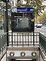 Entrée Station Métro Billancourt Boulogne Billancourt 6.jpg