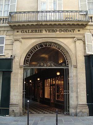 Galerie Véro-Dodat - Entrance facing rue du Bouloi.