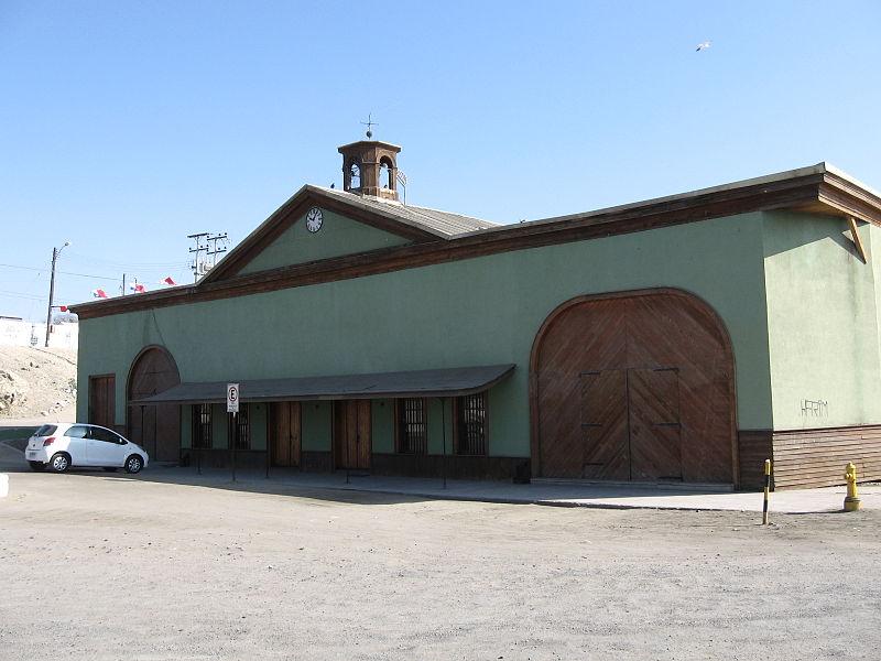 Bahía Inglesa (Caldera, Copiapó) 800px Entrada Estaci C3 B3n Caldera
