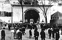 Entrance to Dominion Park Montreal 1910.jpg