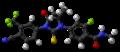 Enzalutamide molecule ball.png