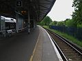 Epsom station platform 4 look south.JPG