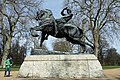 Equestrian statue called Physical Energy in Hyde Park in the City of Westminster, London in spring 2013 (4).JPG