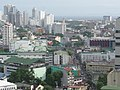 Ermita Skyline and University of the East (UE) - view from University Tower (Ermita and Sampaloc, Manila; 2015-06-22).jpg